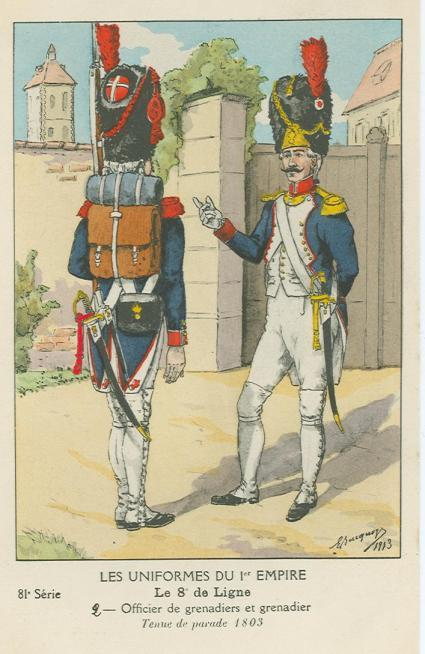 8eme-grenadier-in-paradeuniform-1803