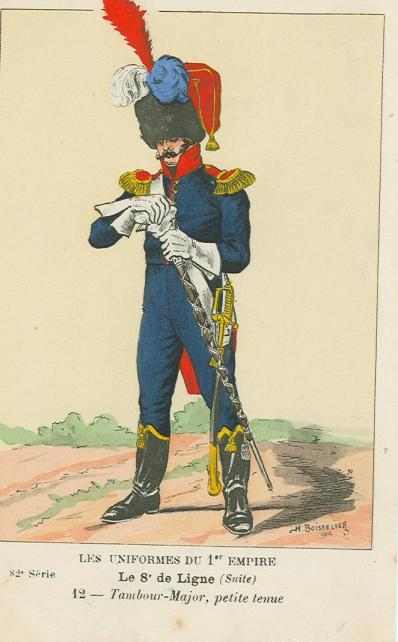 8eme-tambour-major-in-kleiner-uniform-vermutlich-1812