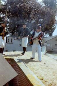 Bild 3 - Auf der Festungsmauer