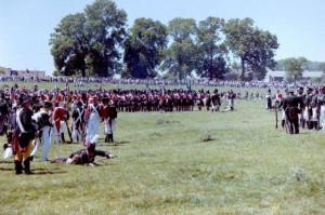 Bild 7 - Nach der Schlacht möchte man eigentlich in den Schatten.