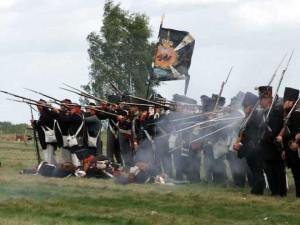 Die Preußen rücken vor