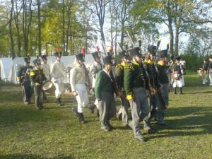 Bild 5 - Feindliche Infanterie