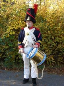 Caporal l´Epaule als Tambour