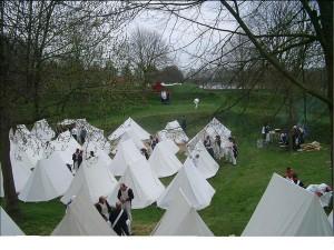 Bild 3 - Zeltlager der 8ème 2