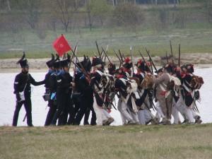 Bild 23 - Die Braunschweiger wehren sich verzweifelt gegen den Ansturm der 8ème