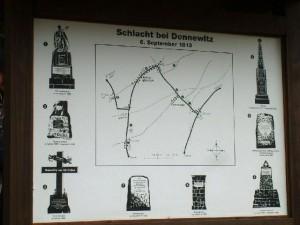 Bild 0 - Karte von der Schlacht bei Dennewitz