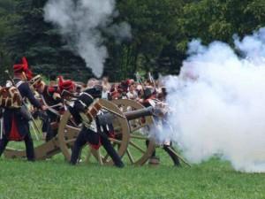 Bild 7 - Unsere Artillerie antwortet sofort