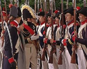 Abschnitt 2 Bild 6A - Der Kaiser spricht mit seinen Soldaten