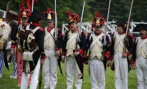 Bild 5 A - Letztes Ordnen vor dem Angriff