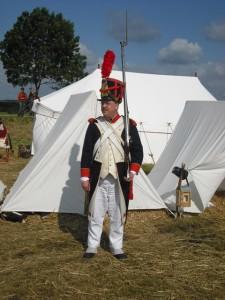 Bild 2 - Grenadier Henri als Stabswache