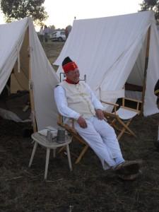 Bild 9 - Auch Grenadier Henri ist bestens aufgelegt