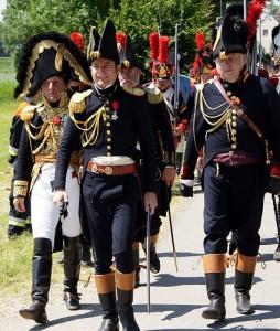 Bild 20 - Auch der Generalstab macht sich auf den Weg.