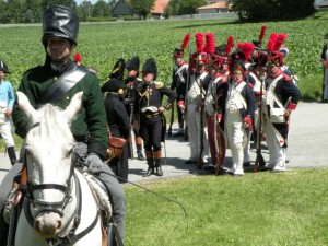 Bild 22 -Die Stabswache wartet auf weitere Befehle