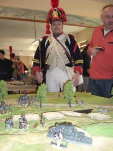 Bild 1 - Der Caporal vor dem Schlachtfeld von Quatre Bras