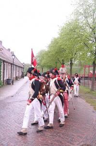 Bild 3 - Auszug aus der Festung bei Regen!