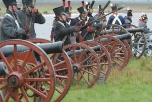 Bild 9 - Die feindliche Artillerie ist übermächtig