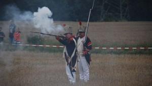 Bild 07 Im Feuergefecht mit dem Gegner