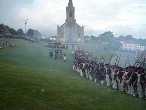 Bild 3 - Erste Kämpfe in Plancenoit