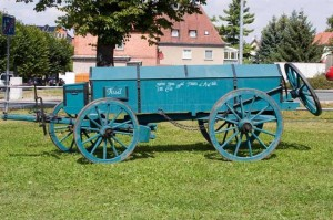 Bild 9 - Nachbau eines Munitionwagens