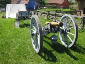 Bild Nr. 5 - Die Kanone der bayerischen Artillerie