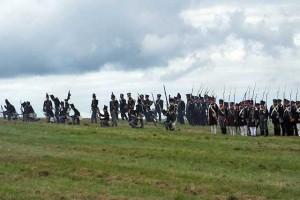 Bild 09 - Das Korps Wallmoden formiert sich