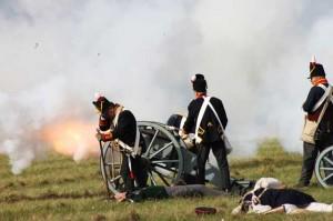 Bild 11 - Die Artillerie eröffnet den Tanz