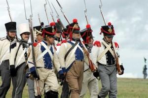 Bild 18 - Auch die verbündeten Westphalen rücken vor