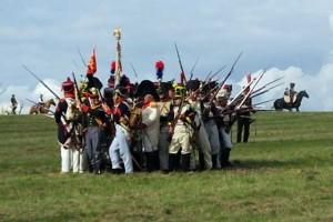 Bild 24 - Feindliche Kavallerie attackiert unsere hastig aufgestellten Karrees