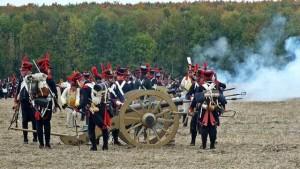 Bild 23 - Es geht los. Unsere Artillerie eröffnet den Tanz