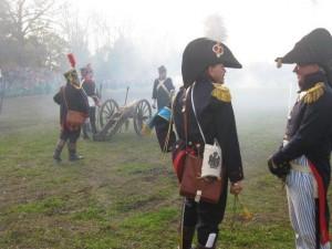 Bild 9 - Die Herren Offiziere sind siegesgewiss.