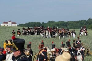 Bild 14 - Auch die Artillerie positioniert sich.