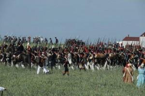 Bild 16 - Unser Bataillon rückt geschlossen zum Angriff vor. Vive l´Empereur. Der Feind flüchtet.