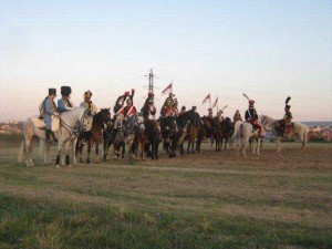 Bild 14 - Auch unsere Kavallerie positioniert sich