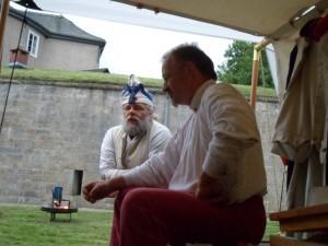 Bild 1 - Der erste Morgen - Besuch von einem Westphalen