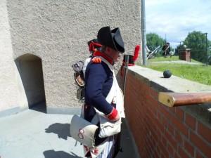 Bild 4 - Im Gefecht - Verteidigung der Festung.