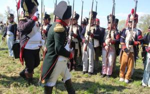 Bild 18 - Der Kaiser erkennt in den Reihen einen alten Grenadier... Es ist Serrurier.