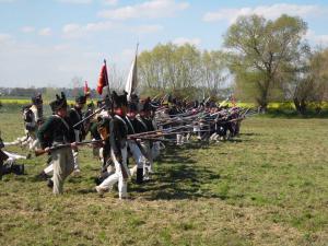Bild 29 - Mit den Sachsen im Pas de Charge werden die Stellungen des Feindes genommen. La Victoire et a nous.