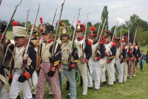 Bild 20 - Der Marsch nach Waterloo beginnt...