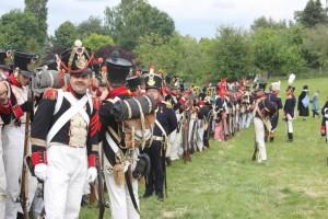 Bild 20 - Unser Bataillon formiert sich.