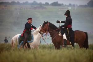 Bild 62 - Aber jetzt sind die Preußen da! Blücher trifft Wellington auf dem Schlachtfeld
