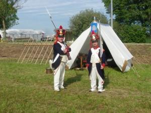 Bild 05 - Die Grenadiere Henri und Jean Paul sind nun an der Reihe.