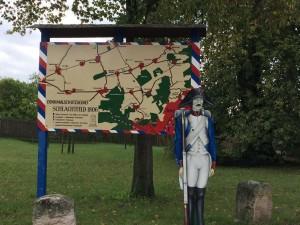 Bild 01 - Lageplan der Schlacht vom 14. Oktober 1806