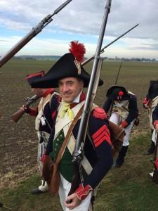 Bild 07 - Der lange Marsch zum Schlachtfeld. Taside nimmt es gelassen.