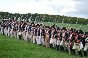 Bild 13 - Die Preußen starten einen Angriff.