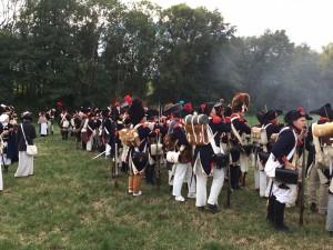 Bild 15 - Die Preußen und Sachsen werden zurückgedrängt. Victoire!