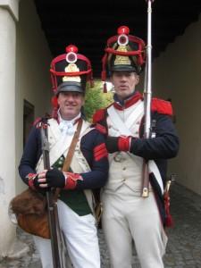 Bild 2 - Taside und Jean-Francois bei der Patrouille