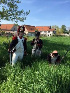 Bild 4 - Grenadier Jean-Francois bei der Vorhut.