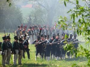 Bild 7 - Unsere Truppen rücken vor.