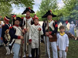 Bild 14 - ...und die jungen Grenadiere der 8ème!