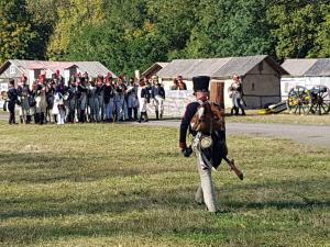 Bild 7 - Die französische Armee formiert sich.